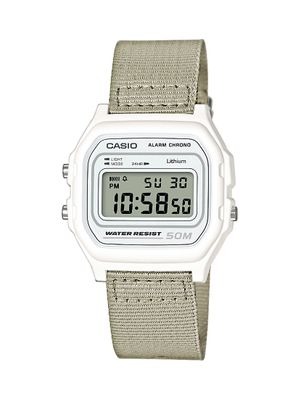 Casio Collection Uhr | Digital mit Stoppfunktion Textil W-59B-7AVEF