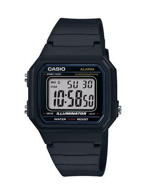 Casio Collection Uhr | Digital mit Tagesalarm aus Resin W-217H-1AVEF
