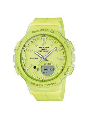 Casio Baby-G Chronograph | Analog/Digi mit Steptracker BGS-100-9AER