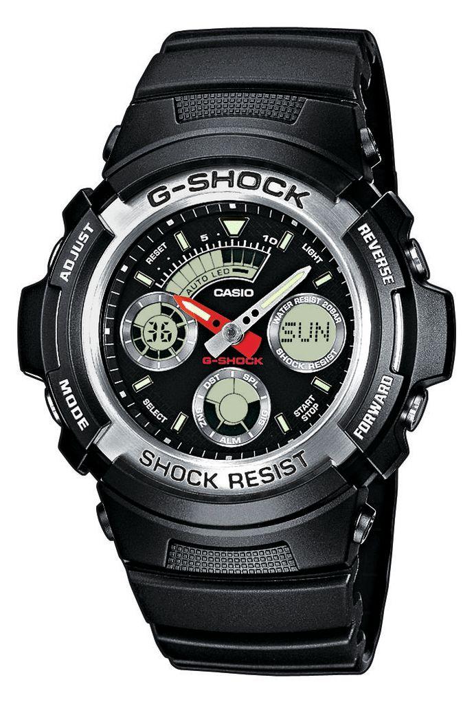 590 G Resinarmband Aw Shock Analog Uhr Casio HerrenuhrDigital 1aer QtrsdCxh