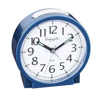 Reisewecker Wecker mit schleichende Sekunde ansteigender Alarm blau