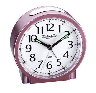 Wecker mit schleichende Sekunde ansteigender Alarm rosa