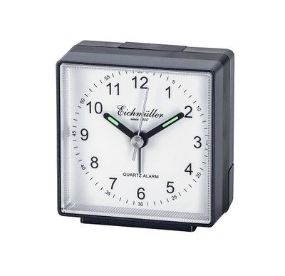 Reisewecker Wecker mit schleichende Sekunde ansteigender Alarm schwarz/weiß