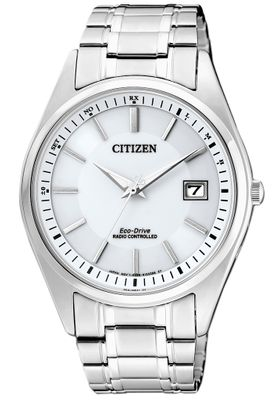 Citizen Eco-Drive | Herrenuhr Funk/Solar, Dunkelgangreserve AS2050-87A