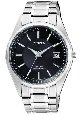 Citizen Eco-Drive | Herrenuhr Funk/Solar, Edelstahl massiv AS2050-87E