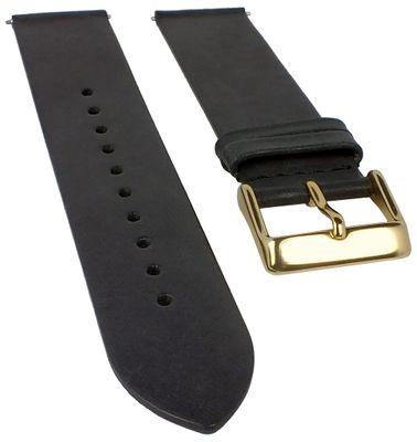 Timex Men's Weekender Uhrenarmband 20mm   Leder, anthrazit für TW2R26000 – Bild 1