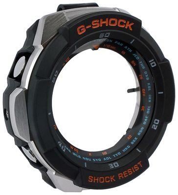 Casio G-Shock | Gehäuse CASE/CENTER ASSY schwarz/silbern für GW-3000M – Bild 1