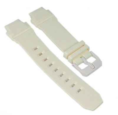 Casio Baby-G Ersatzband | Uhrenarmband Resin beige für BGA-230 – Bild 1