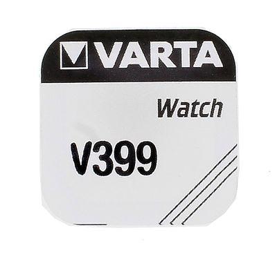 Varta SR927W Knopfzelle | Batterie 399V Silberoxid 1,55V für Uhren – Bild 1