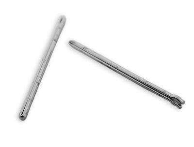 Citizen | 2x Open End Pins Ø 0,85 mm 19mm für Metalbänder u.a JY0040