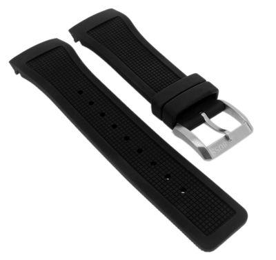 Hugo Boss Uhrenarmband | Kautschuk schwarz | für Herrenuhr 1512660 – Bild 1