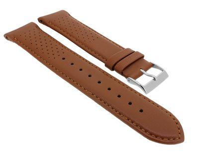 Hugo Boss Grand Prix | Uhrenarmband 22mm aus Leder braun für 1513475 – Bild 1