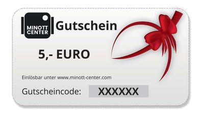 Minott Center | Geschenk-Gutschein im Wert von 5 Euro