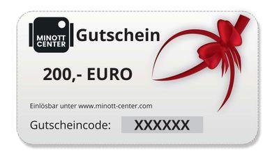 Minott Center | Geschenk-Gutschein im Wert von 200 Euro