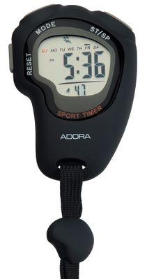 Adora Sport Timer GS-210 | Stoppuhr digital Kunstsotff mit Alarm 32370