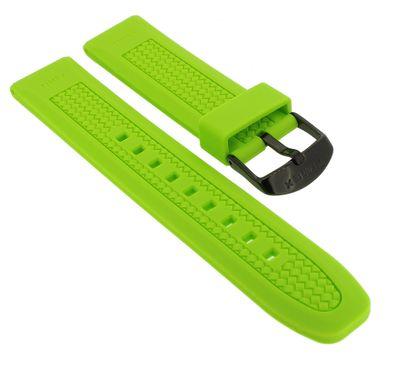 Timex Sport Uhrenarmband 20mm | Silikon grün Band T2P025