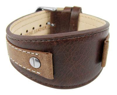 s.Oliver Unterlageband | Uhrenarmband 16mm | Leder braun SO-1892-LQ – Bild 1
