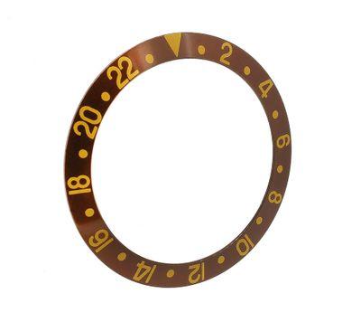 Lünette Ersatzteil in braun passend zu RLX Bestfit Modell 16719 – Bild 1