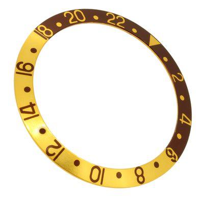 Lünette Ersatzteil in gold/braun passend zu RLX Bestfit Modell 16713
