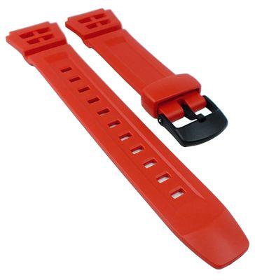 Casio Uhrenarmband | Ersatzband aus Resin rot G-Shock AQ-S800W – Bild 1
