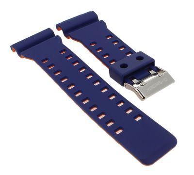 Casio Ersatzband | Uhrarmband Resin blau für G-Shock GA-100L – Bild 1
