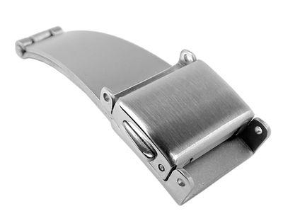 Minott Edelstahlschließe mit zwei Drückern | einseitig klappbar 32550 – Bild 1