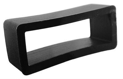 Lotus Bandschlaufe | Schlaufe aus Kautschuk in schwarz | für L15969 – Bild 1