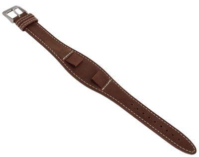 s.Oliver Unterlageband | Uhrenarmband 14mm | Leder braun SO-2972-LQ – Bild 1