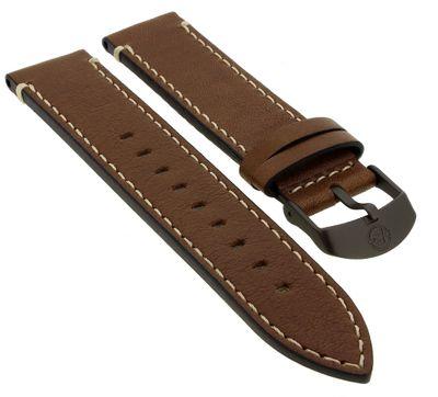 Timex Expedition | Uhrenarmband 20mm aus Leder in braun | TW4B09000