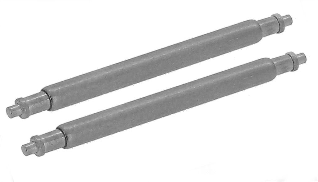 1PAAR 49mm QUALIT/ÄTS FEDERSTEGE F/ÜR UHRENARMB/ÄNDER 1,78mm DURCHMESSER