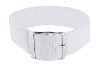 Minott Durchzugsband Perlon | Textil geflochten in weiß | 33015 – Bild 1