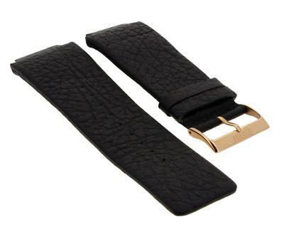 Esprit Uhrenarmband aus Leder schwarz genarbt 21mm | ES100321 ES100851 – Bild 1