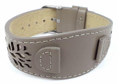 s.Oliver 14mm   Unterlageband aus Leder in grau   SO-3150-LQ – Bild 1