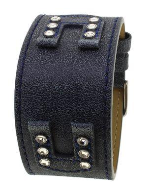 Bruno Banani Unterlageband | Leder blau  XT Square Ladies XS3 | 33247