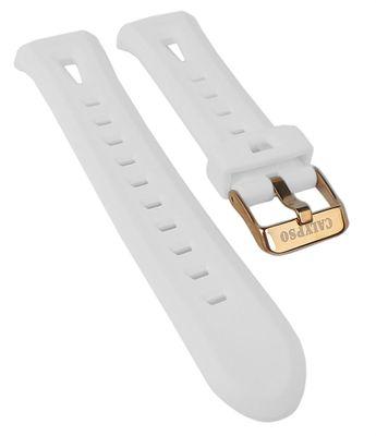 Calypso Watches | Uhrenarmband aus Kunststoff weiß für K5666/1