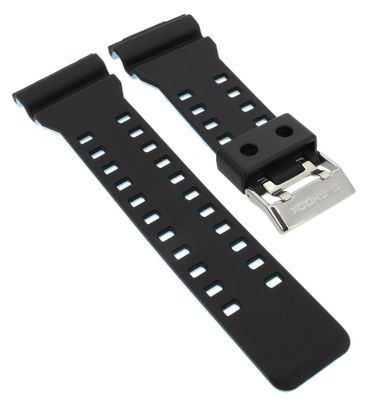 Casio Ersatzband   Uhrarmband Resin schwarz für G-Shock GA-110 GA-700 – Bild 1