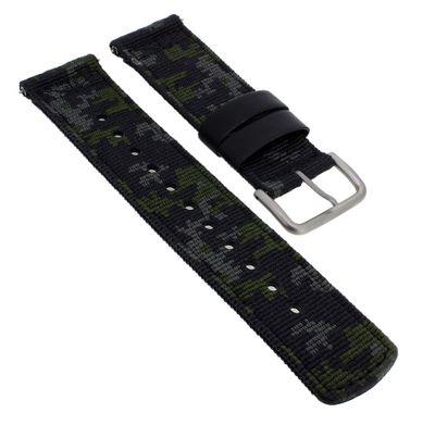 Casio Uhrenarmband | Ersatzband aus Textil camouflage Pro Trek PRG-650YBE