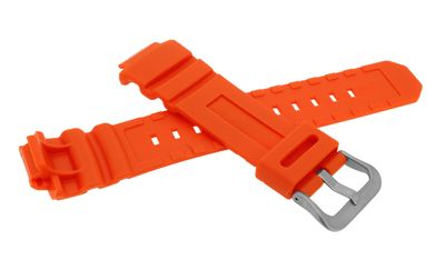 Casio G-Shock Ersatzband | Uhrenarmband Resin orange AWG-M100MR – Bild 2