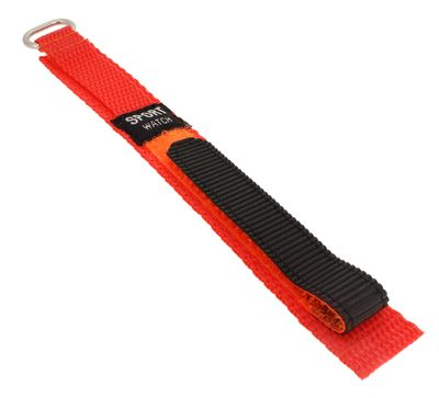 Minott Uhrenarmband 14mm Klettband orange Kinder Textillgewebe ► 33879