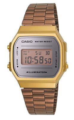 Casio Collection der Klassiker | Digitaluhr Edelstahl A168WECM-5EF