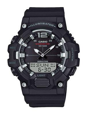 Casio Collection Herrenuhr | Digital-Analog Uhr Resinarmband HDC-700-1AVEF