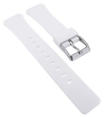 Calypso → Uhrenarmband aus Silikon in weiß Spezial Anstoß → K5743/1