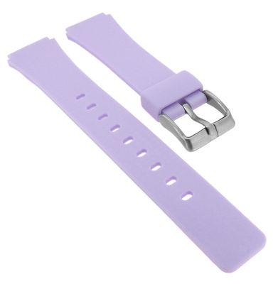 Calypso ⇒ Uhrenarmband aus Silikon in lila Schließe mit Logo ⇒ K5743/2