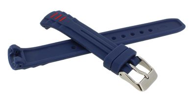 Calypso • Uhrenarmband aus Silikon in blau Schließe mit Logo • K5757/5 – Bild 2