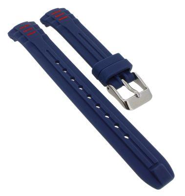 Calypso • Uhrenarmband aus Silikon in blau Schließe mit Logo • K5757/5 – Bild 1