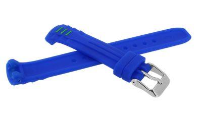 Calypso • Uhrenarmband aus Silikon in blau Schließe silbern • K5757/4 – Bild 2