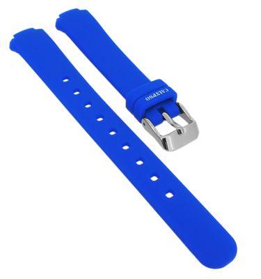 Calypso • Uhrenarmband aus Silikon in blau Schließe silbern • K6069/3 – Bild 1