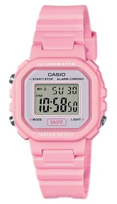 Casio Collection Uhr | Digital LED Light aus Resin LA-20WH-4A1EF
