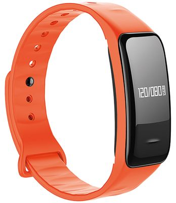 Atlanta Damenuhr Smartwatch Silikonarmband orange • Digitaluhr 9701,2