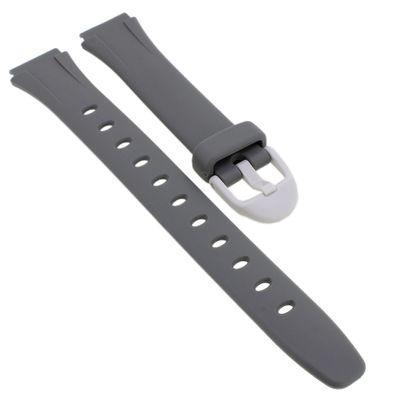 Casio Uhrenarmband | Ersatzband Resin grau für LW-203 – Bild 1